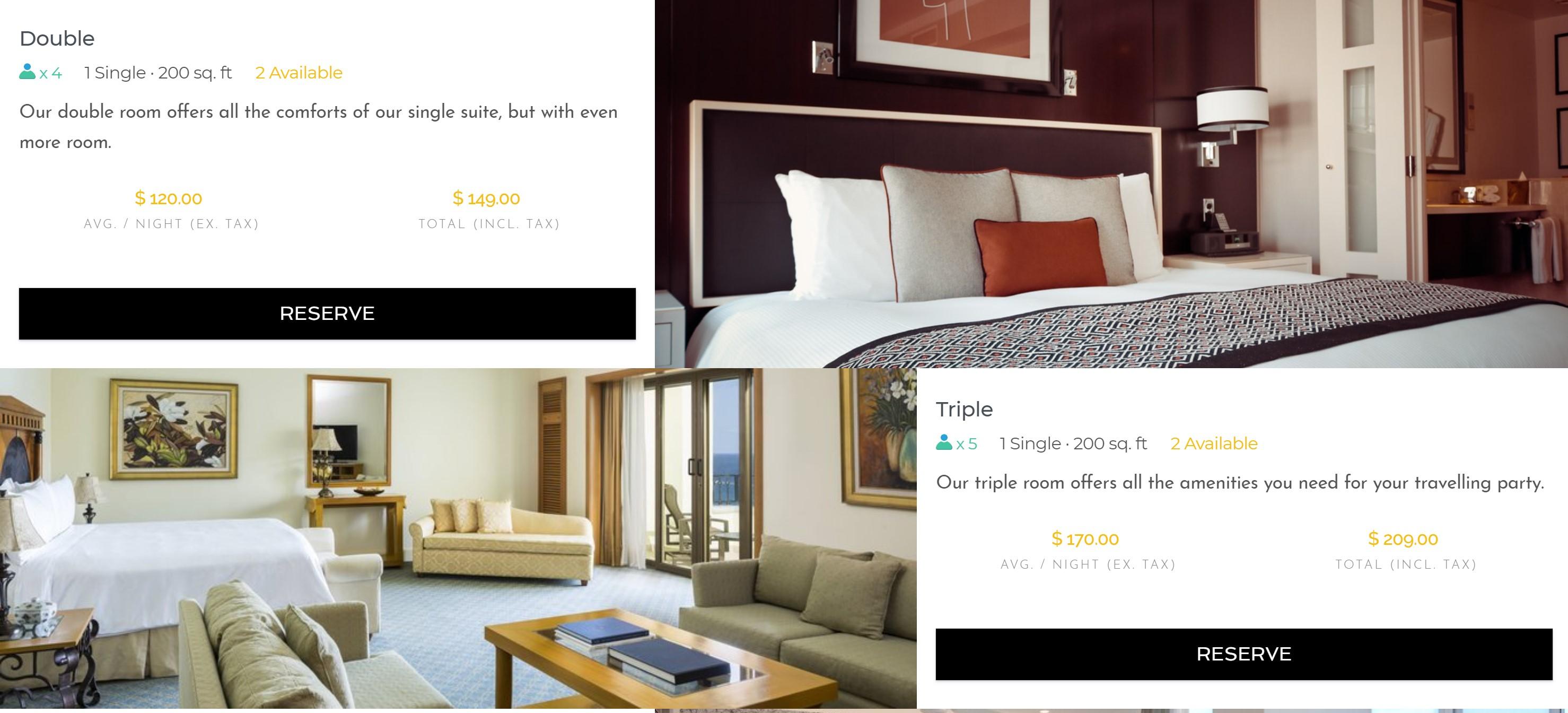 Booking widget - Booking button
