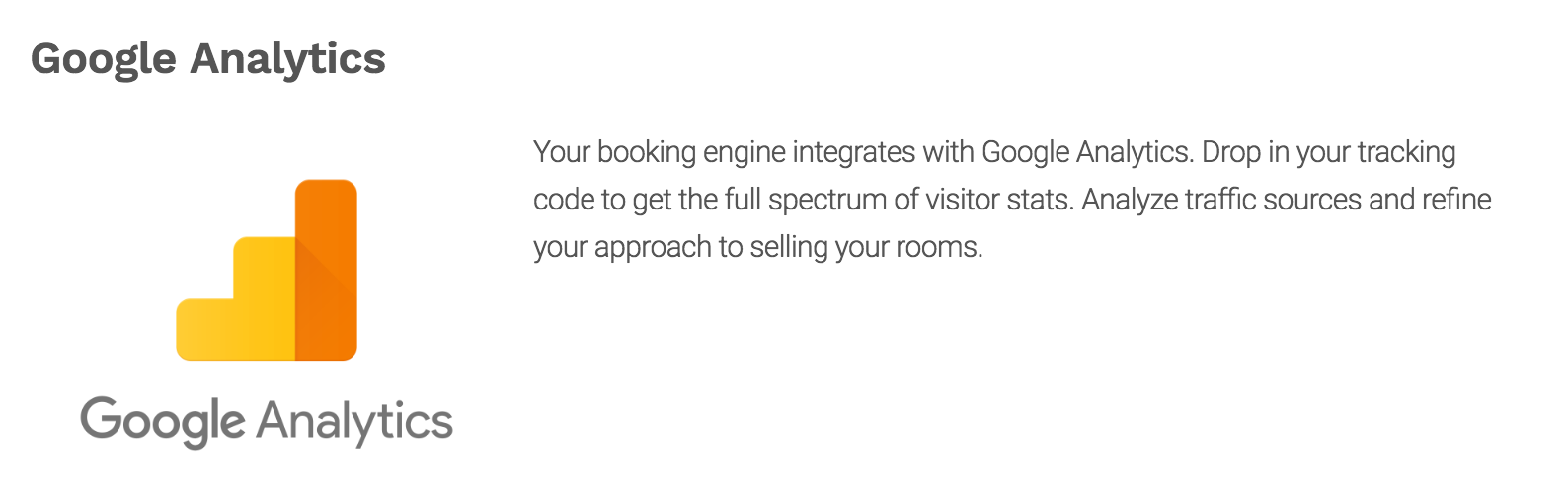 Google Analytics for Hotels, b&b, Vacation Rentals, Villas and Multi Property
