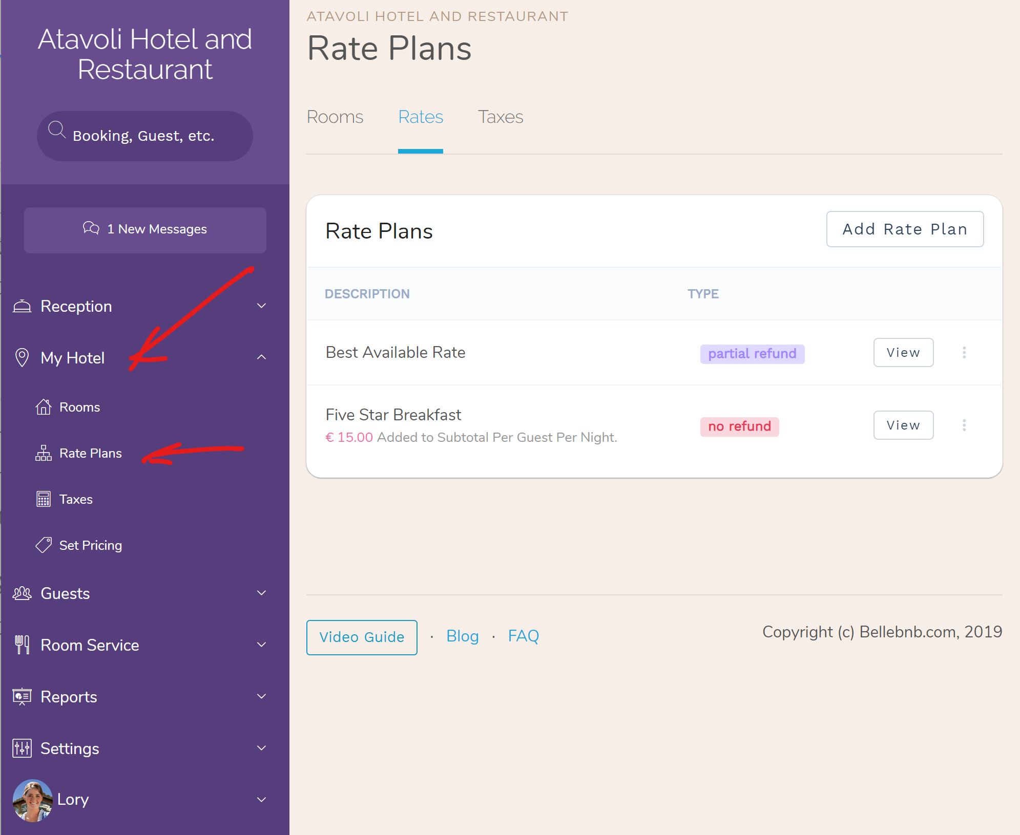 Hotel Rate Plans | Value-added/Per Guest Rate Plans