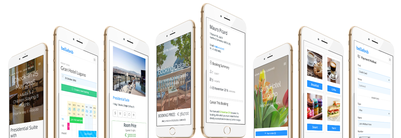 Hotel Mobile App for Android, Hotel Mobile App for Apple.