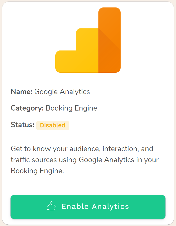 Google Analytics for Hotels