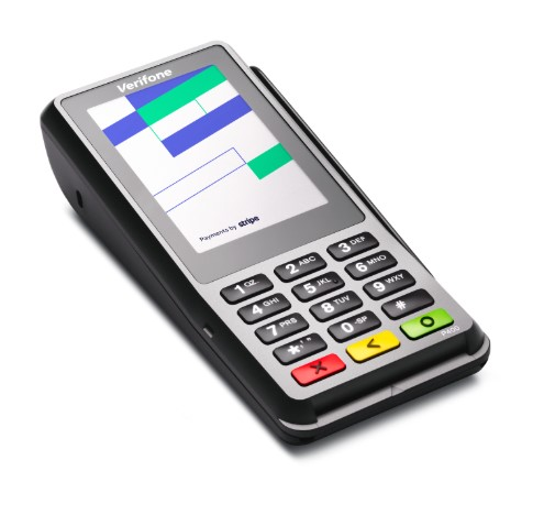 Hotel Credit Card Verifone P400 countertop reader with Stripe Terminal, Online Hotel payment Gateway processing for Hospitality business - Stripe Hotel, Stripe b&b, Stripe Vacation Rentals