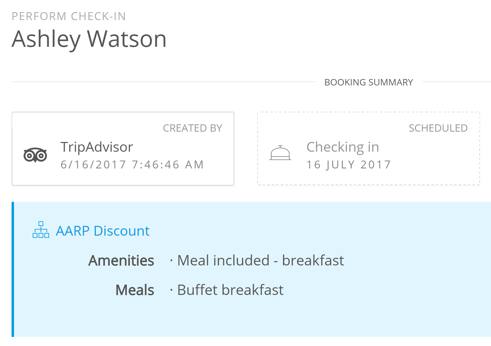 Simple and Powerful Hotel Reservation Management